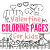 original valentine coloring for kids adults activities valentines blog gargen sheets coloring pages Valentine Coloring Page