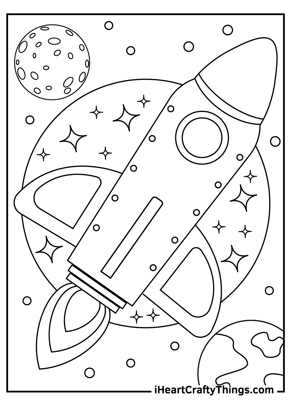 outer space coloring updated marker with eraser muffin man art projects teacher school coloring pages Space Coloring Page