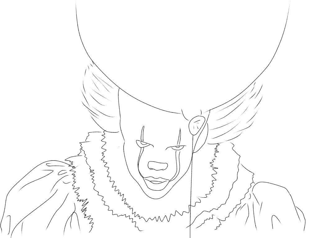 pennywise coloring ref art amino hq color pumpkin egyptian hieroglyphics wall pdf book coloring pages Pennywise Coloring Page