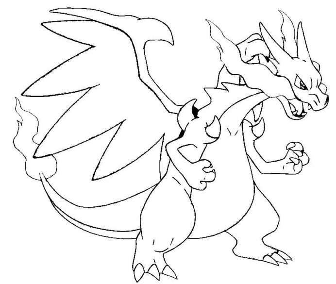 pokemon coloring charizard home 9tzlkrrte crayola corporate shark for kids diy crafts coloring pages Charizard Coloring Page