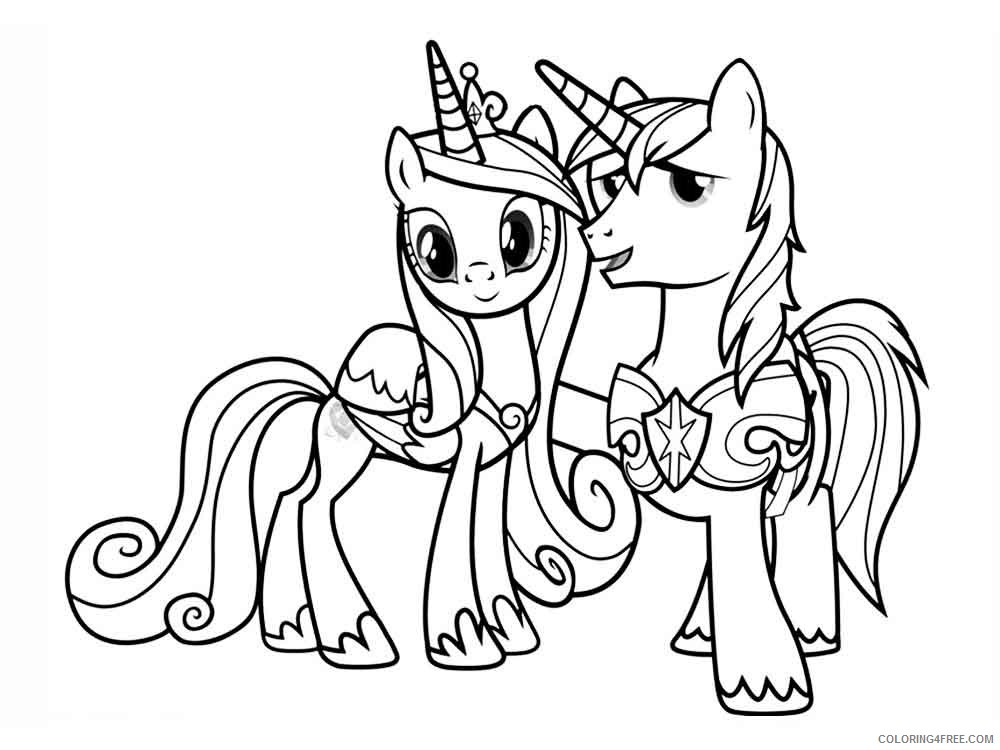 princess cadence coloring cartoons printable coloring4free chinese moon colouring monster coloring pages Princess Cadence Coloring Page