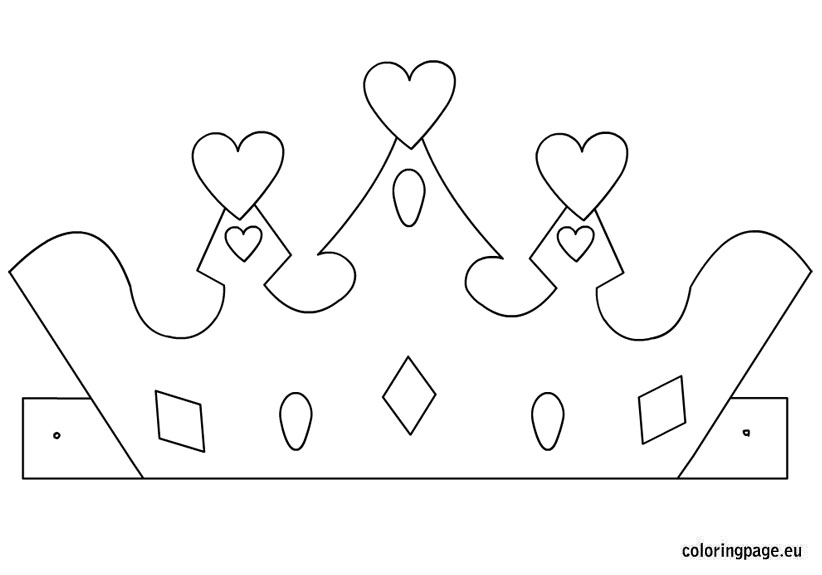 princess crown template coloring colering sheets for kids unique world gifts crayola desk coloring pages Princess Crown Coloring Page