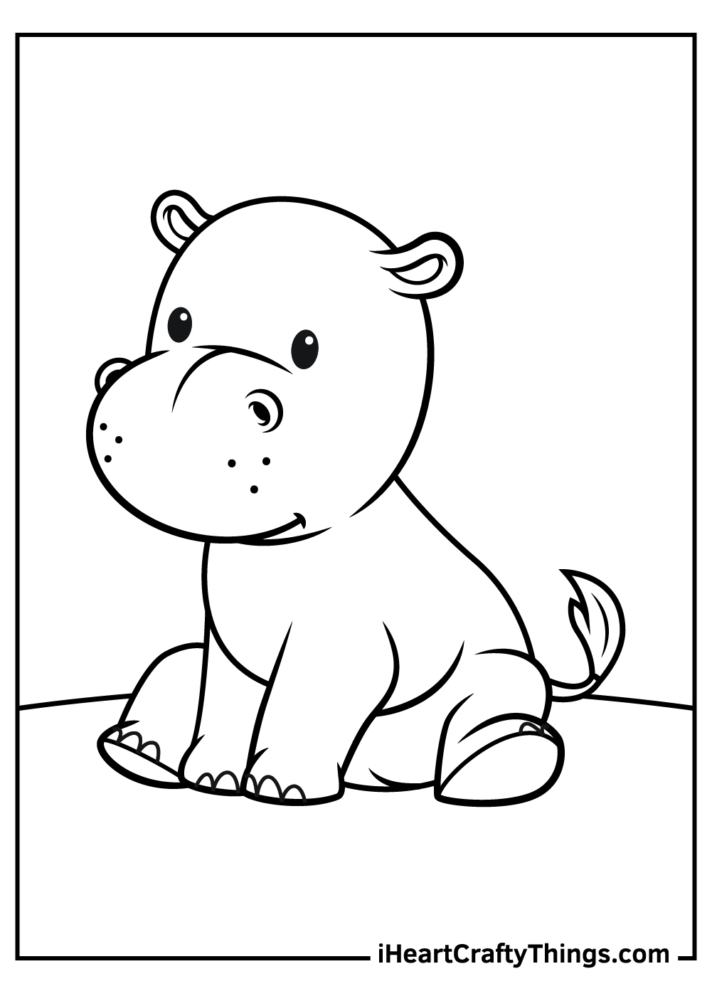 printable baby animals coloring updated animal ladybug symmetrical just for fun free coloring pages Animal Coloring Page