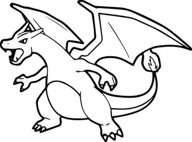 printable charizard coloring for free pokemon freebies spider sheet colors of bubbles coloring pages Charizard Coloring Page
