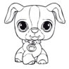 puppy coloring best for kids printables crayola recycling program phone number crossword coloring pages Puppy Coloring Page