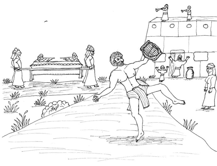 robin great coloring david dances before the lord and ark of covenant fall templates coloring pages Ark Of The Covenant Coloring Page