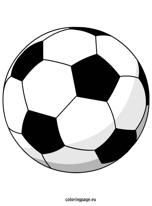 soccer ball coloring christmas clipart sheet popular color building with cardboard my coloring pages Soccer Ball Coloring Page