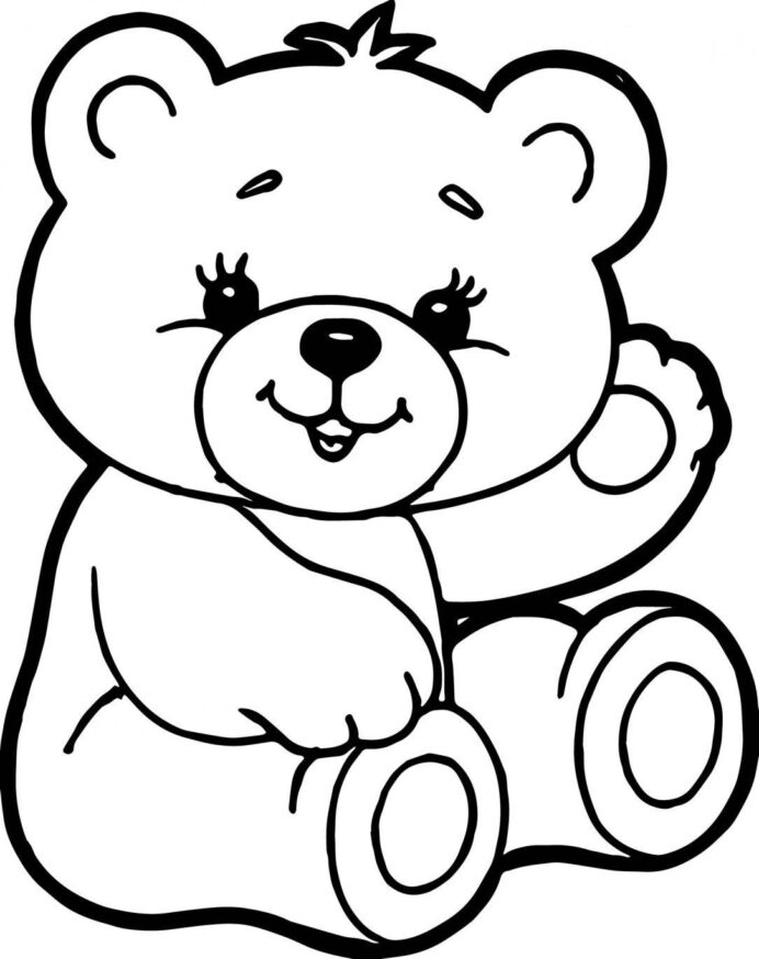 teddy bear drawing coloring peepsburgh bears letter lowercase father pictures to color coloring pages Teddy Bears Coloring Page