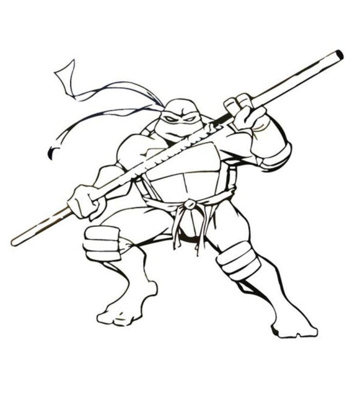 top free printable ninja turtles coloring turtle your toddler to do 910x1024 non staining coloring pages Ninja Turtle Coloring Page