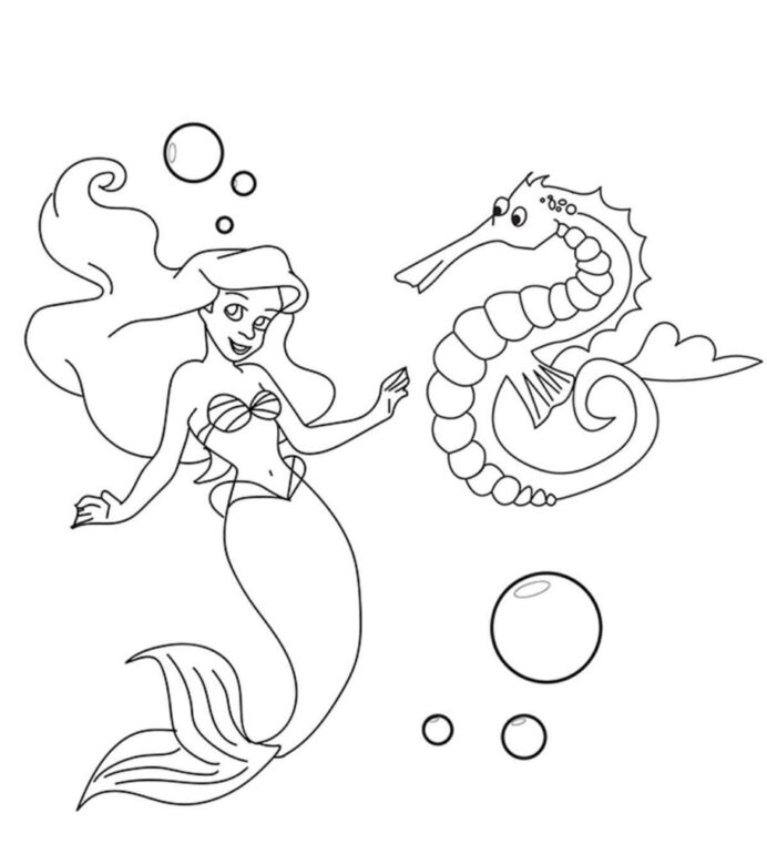 top free printable seahorse coloring for your little ones 910x1024 does it comes in coloring pages Seahorse Coloring Page