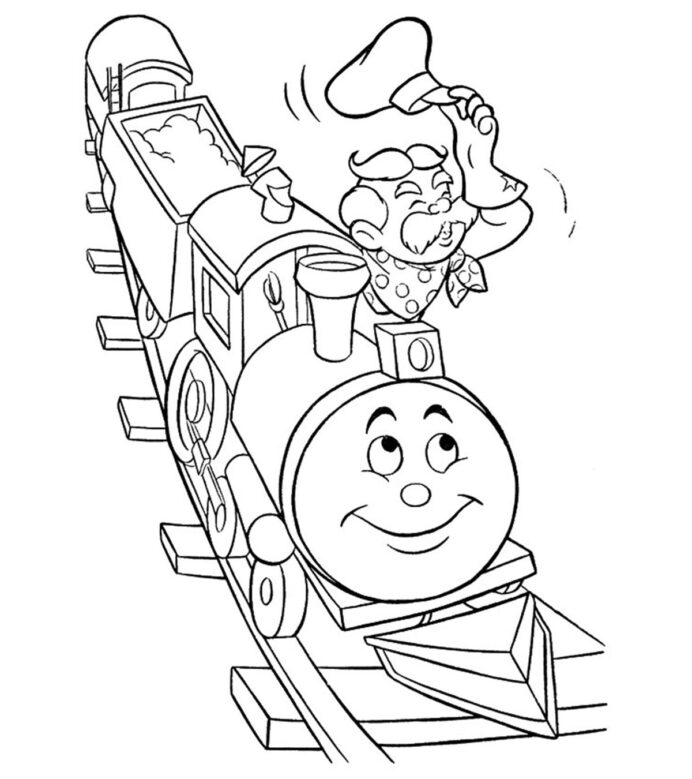 top free printable train coloring best your toddler to color halloween cute kids squishy coloring pages Train Coloring Page