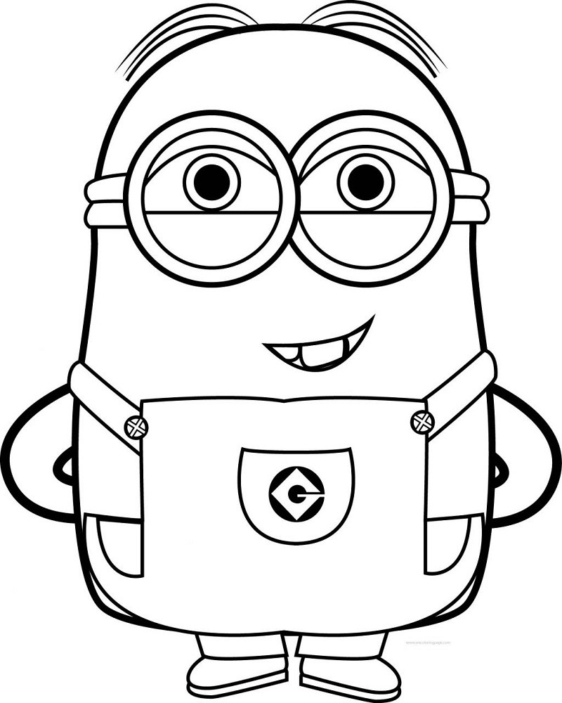 top printable minions coloring minion free inspirational stephen worksheets of 1024x1281 coloring pages Printable Minion Coloring Page