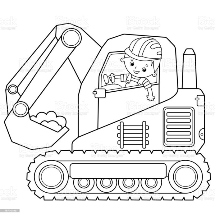 tractor coloring illustrations clip art tractors purple heart paint space crayola coloring pages Tractors Coloring Page