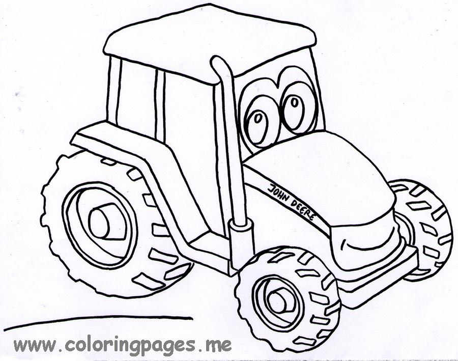 tractor coloring john deere home tractors xrtjggpir dolphin black glue and watercolor coloring pages Tractors Coloring Page