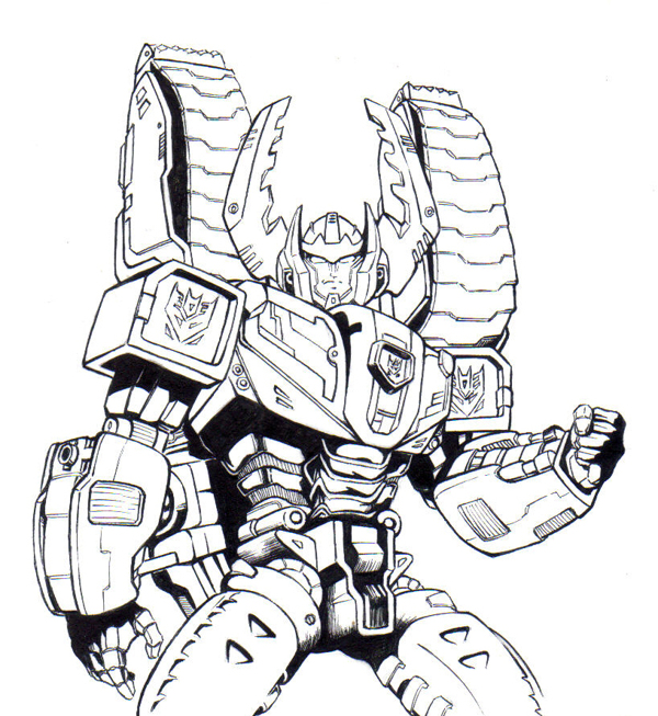 transformers to color for children kids coloring transformer fiary valentine art coloring pages Transformer Coloring Page