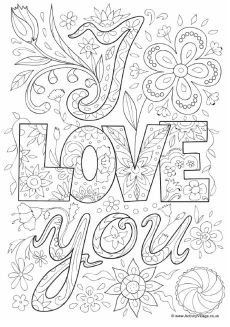 you doodle colouring coloring books mothers child socks sheets fish red with dark blue coloring pages Love Coloring Page