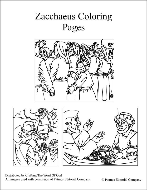 zacchaeus coloring crafting the word of zaccheaus printable flags rusia shark pictures to coloring pages Zaccheaus Coloring Page