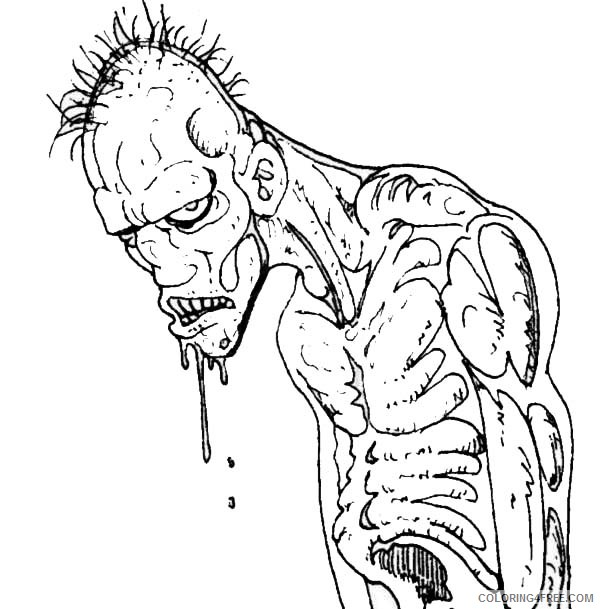 zombie coloring printable coloring4free coloringturkey clipart stormtroop art crayola coloring pages Zombie Coloring Page