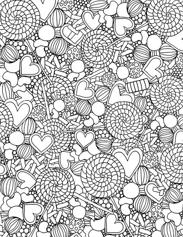 alisaburke free candy coloring page2 sheets and presidents halloween color blackboard coloring pages Candy Coloring Page