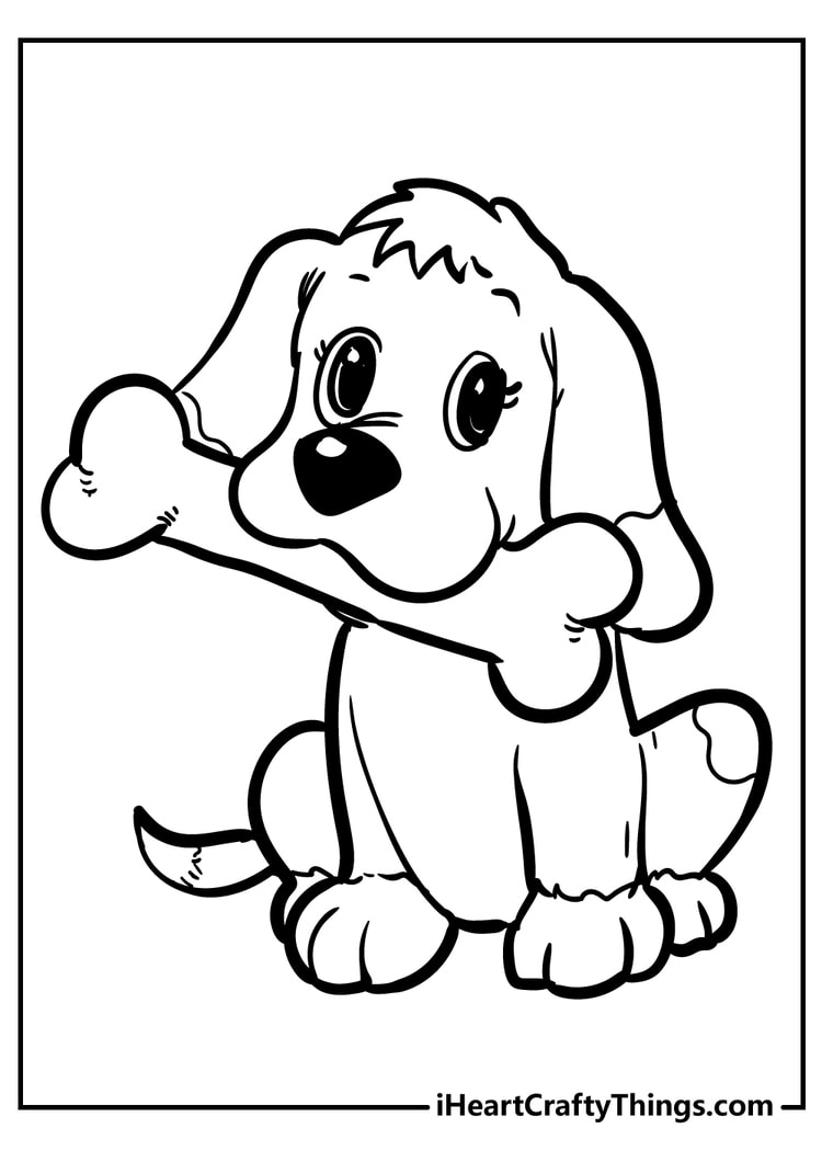 all new puppy coloring heart crafty things of dog 2nd grade art lesson plans christmas coloring pages Coloring Page Of A Dog