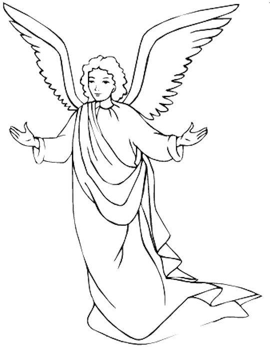 angel coloring and malvorlagan guardian colored gel pens pony for ariel kids sports team coloring pages Guardian Angel Coloring Page