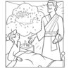 angel moroni appears to joseph coloring pearl great book color the world coupon kids coloring pages Joseph Smith Coloring Page