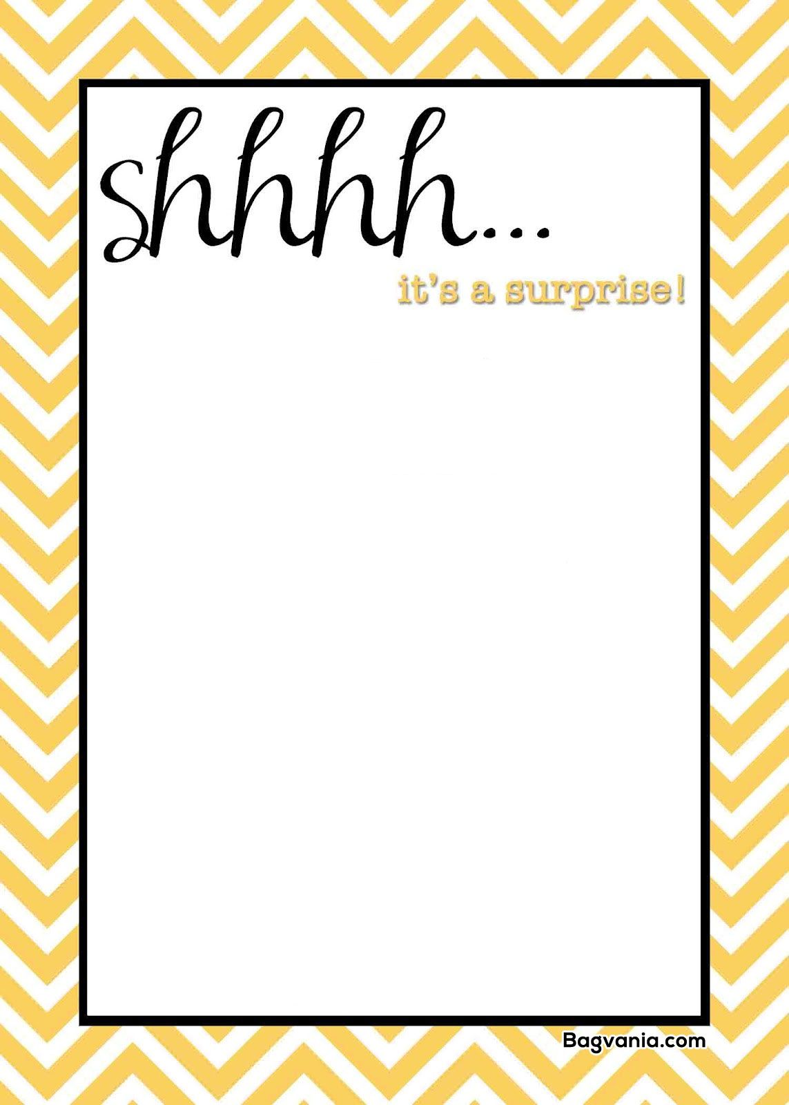 awesome free printable surprise birthday invitations party invite template ice cream coloring pages Free Printable Surprise Birthday Party Invitations