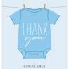 baby shower thank you cards design yours instantly basic invite free printable tags boy coloring pages Free Printable Baby Shower Thank You Tags