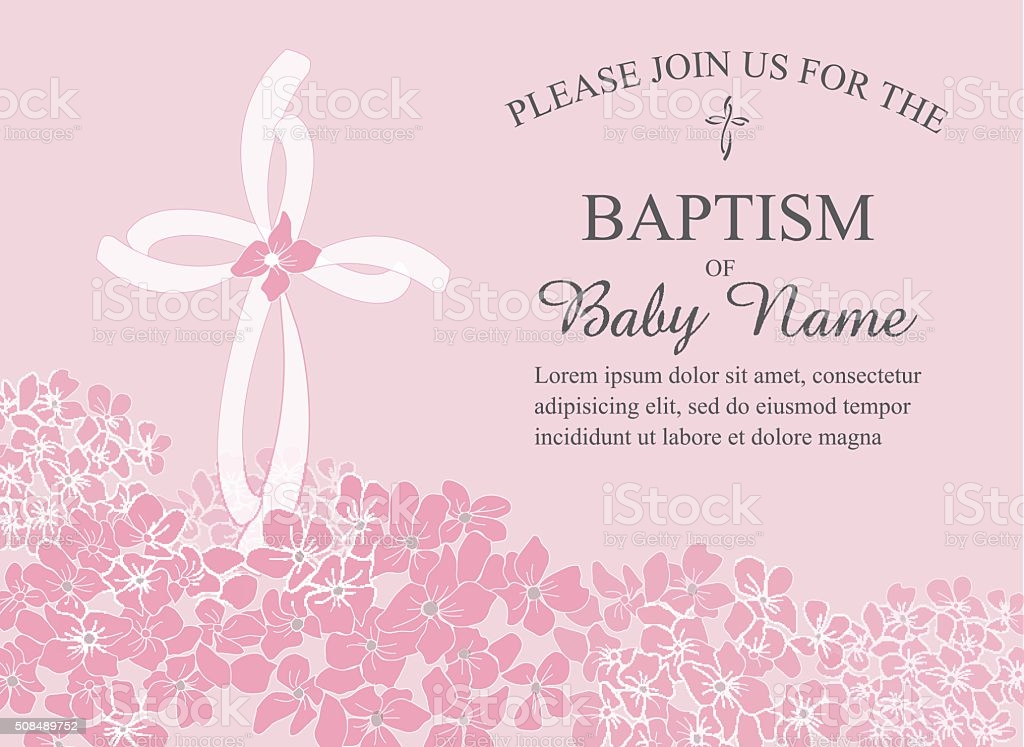 baptism invitation vector art icons and graphics for free printable template silly beak coloring pages Free Printable Baptism Invitation Template