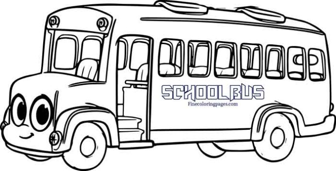 best free printable bus coloring for kids magic school toddler gift downloads can you coloring pages Magic School Bus Coloring Page