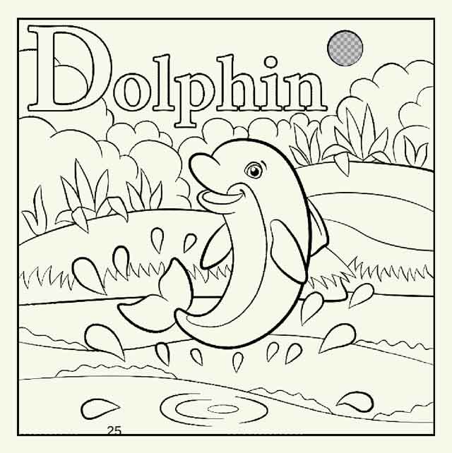 best free printable dolphin coloring for kids truckcoloring optical illusions designs coloring pages Coloring Page Dolphin