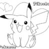 best free printable pikachu coloring for kids of unique art gifts winter printouts easter coloring pages Free Printable Pikachu Coloring Pages