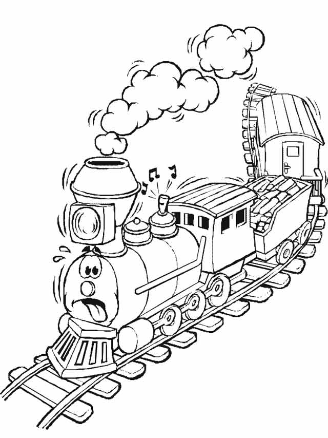 best free printable polar express coloring for kids train fall toddlers thanks giving coloring pages Polar Express Train Coloring Page