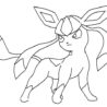 best ideas for coloring glaceon base by firewolfshower the math curse caricature candle coloring pages Glaceon Coloring Page