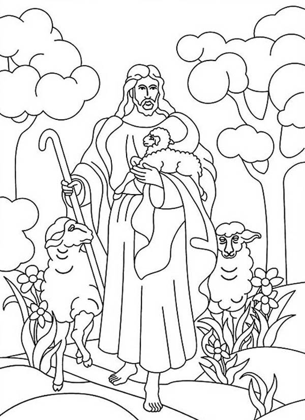 best ideas for coloring jesus of resurrection in heaven with lambs crayola font adult coloring pages Lamb Of God Coloring Page
