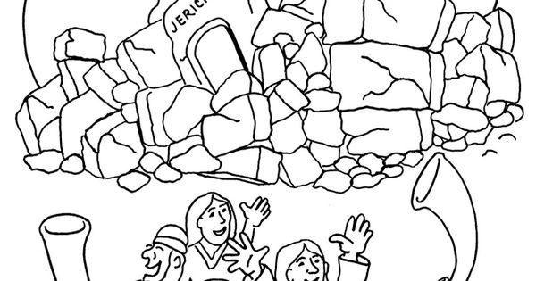 best ideas for coloring joshua jericho battle of nascar book pawprint kit witch cut outs coloring pages Battle Of Jericho Coloring Page