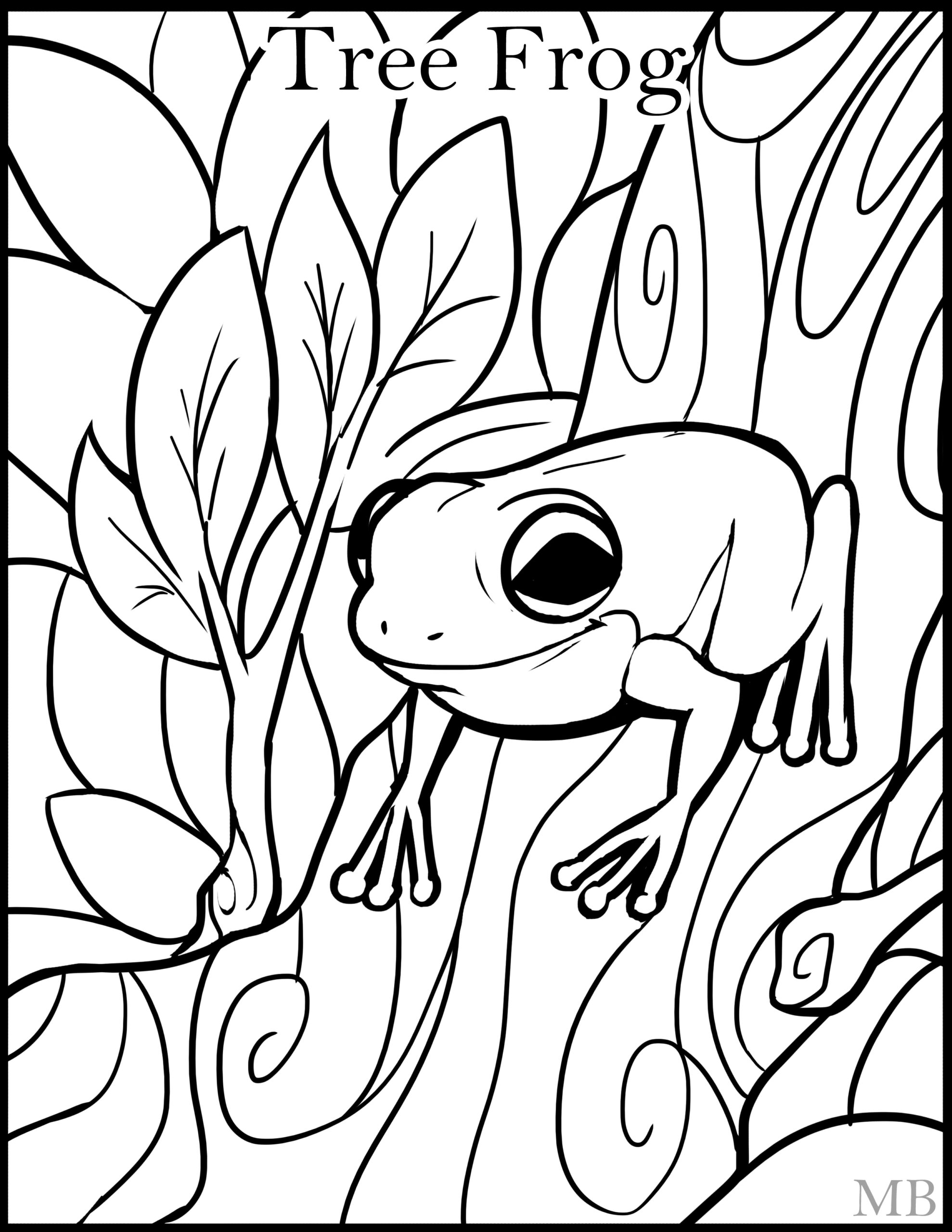 best ideas for coloring treefrog red eyed tree frog coloringpage by rhazcrossbones coloring pages Red Eyed Tree Frog Coloring Page