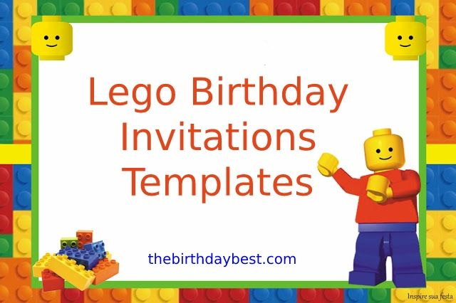best lego birthday invitations templates free printable party printables decendents coloring pages Lego Birthday Party Invitations Printable Free