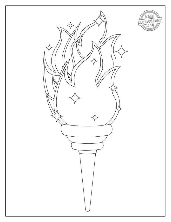 best olympics coloring olympic rings torch kids activities blog screenshot colored glue coloring pages Olympic Coloring Page