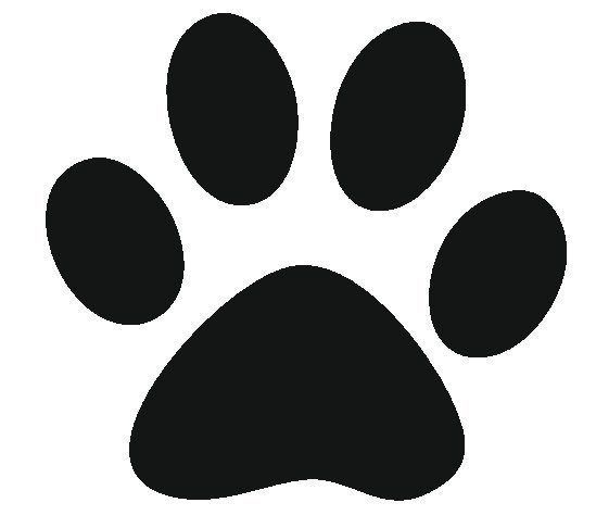 best photos of paw print stencil printable free dog clipart art coloring image alligator coloring pages Dog Paw Print Stencil Printable Free