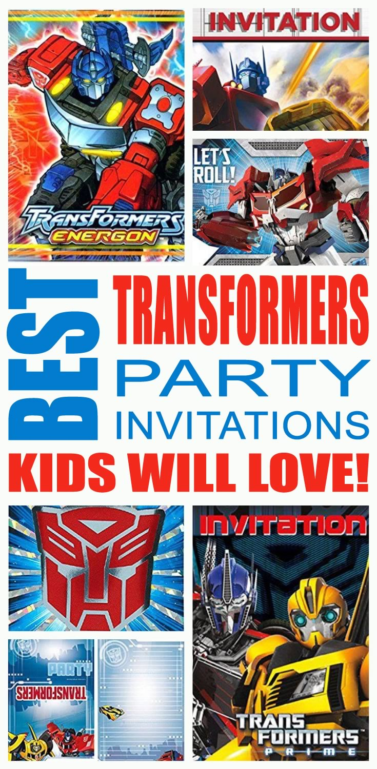 best transformers party invitations kids birthday printable free chinese moon colouring coloring pages Transformers Birthday Invitations Printable Free