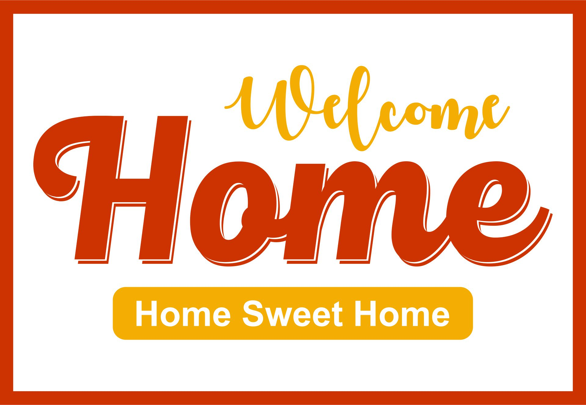best welcome home signs free printable printablee sign template coloring leaves jumbo coloring pages Free Printable Welcome Sign