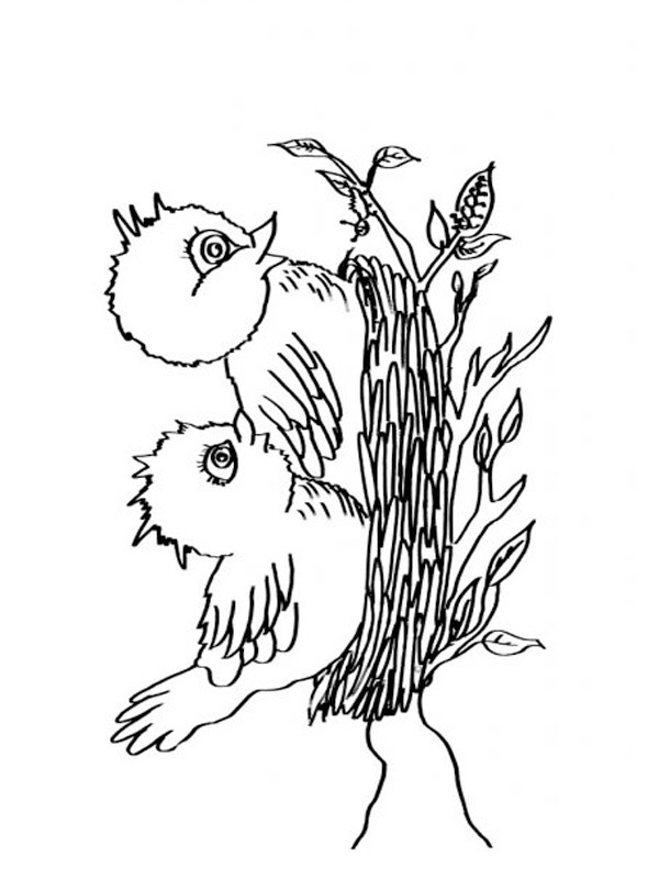 birds nest coloring 1001coloring bird vogels in nestje rescue ship frozen inspiration art coloring pages Bird Nest Coloring Page