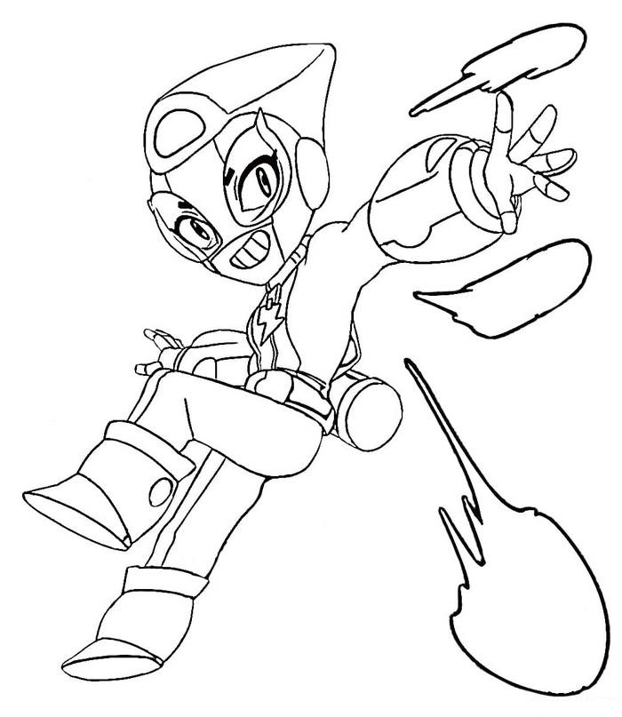 brawl stars coloring pictures free printable mytopkid horses drawing paper easter egg coloring pages Stars Coloring Page