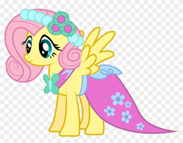 bridal fluttershy by mowza2k2 my little pony coloring free transparent clipart images coloring pages Fluttershy Coloring Page