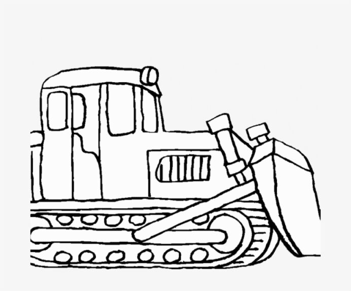bulldozer pictures to color mecanic shovel construction vehicles coloring transparent coloring pages Bull Dozer Coloring Page