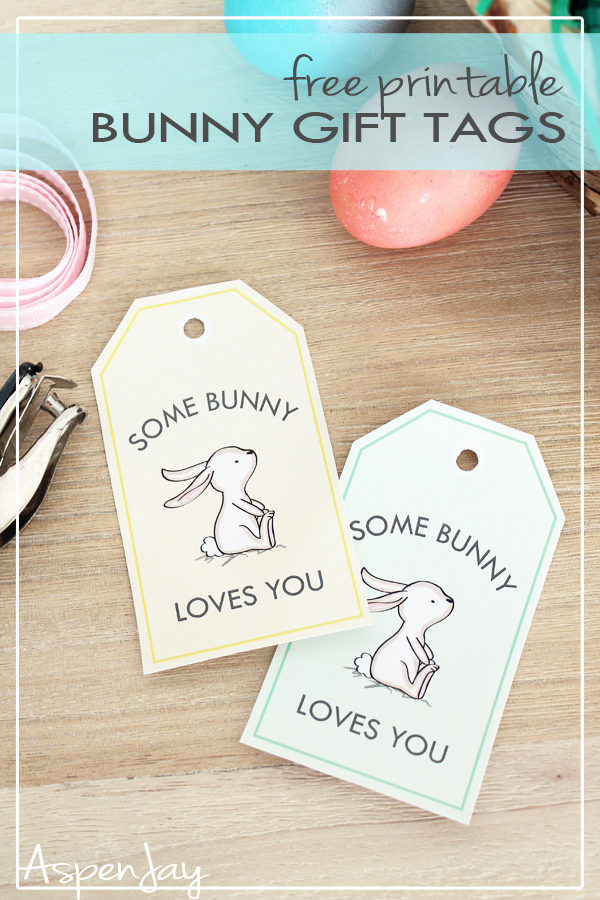 bunny gift tags free printable for easter aspen big coloring set fr kids mickey mouse coloring pages Easter Tags Printable Free