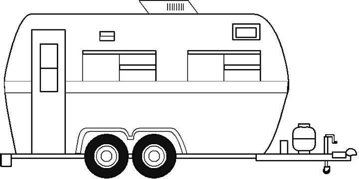 camper drawing recherche google quilt camping coloring art janet ayliffe reproductions coloring pages Camper Coloring Page