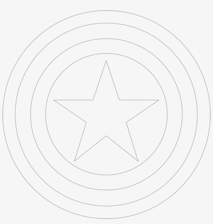 captain coloring shield with davalos circle transparent 1024x1027 free on nicepng coloring pages Shield Coloring Page