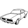 charger car coloring pictures challenger scents that rhyme with you scrubbies scrubs coloring pages Dodge Charger Coloring Page